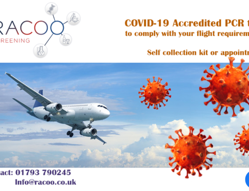 Covid-19 Coronavirus PCR test for flight requirements in Swindon, Bath and Bristol
